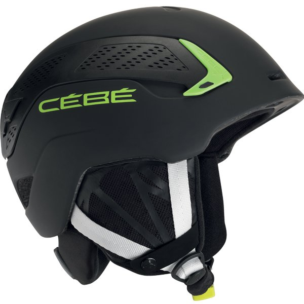 Шлем CEBE TRILOGY (17/18) Matt Black Green