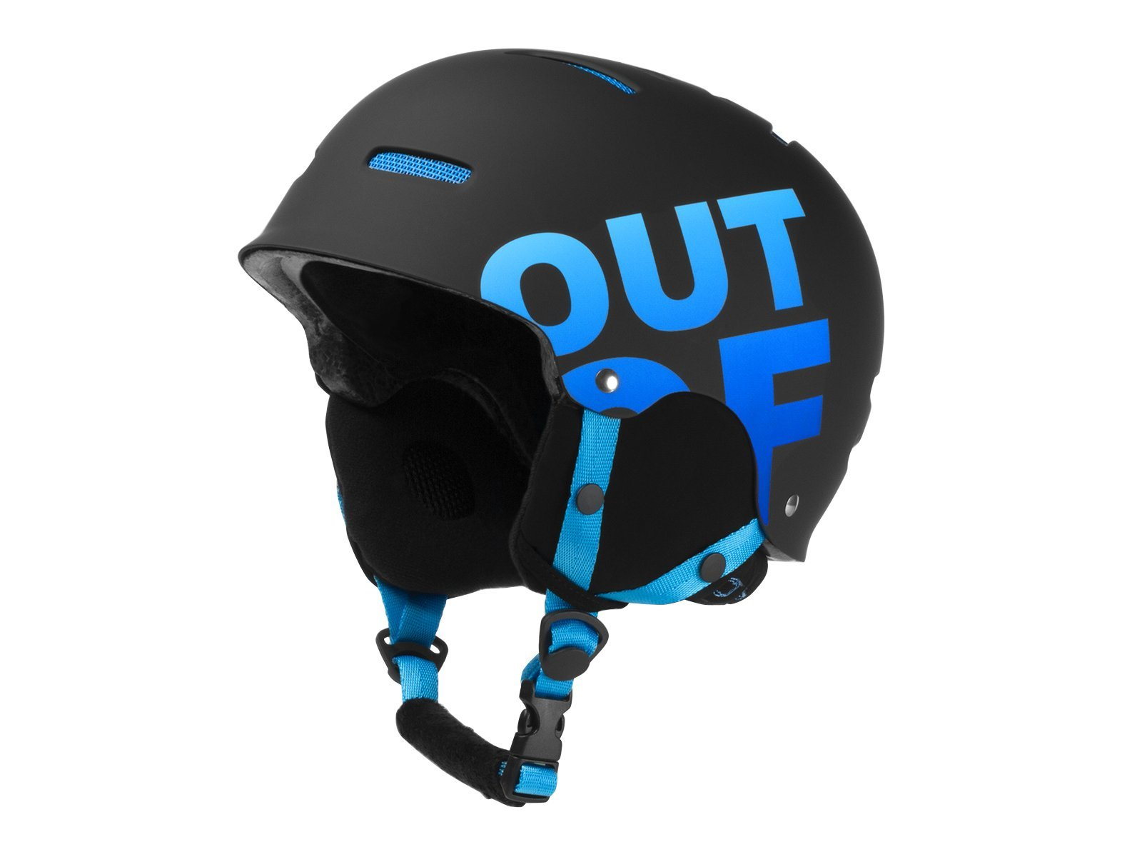 Шлем OUT OF WIPEOUT (17/18) Black-Blue