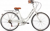 "Велосипед BICYSTAR City Bike 26"" (2021) White"