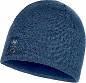 Шапка BUFF KNITTED & POLAR HAT (19/20) Solid Navy