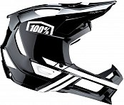Велошлем 100% Trajecta Helmet Black-White