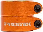 "Зажим PHOENIX Smooth Double Bolt Clamp 1.5"" Anod Orange"