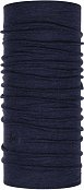 Бандана BUFF MIDWEIGHT MERINO WOOL (19/20) Night Blue Melange