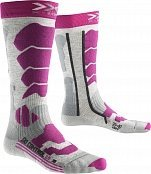 Носки X-BIONIC SKI CONTROL 2.0 LADY (18/19) Light Grey Melange-Violet