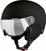 Шлем ALPINA ARBER VISOR (20/21) Black Matt
