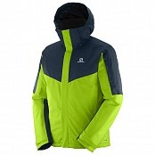 Куртка SALOMON STORMSEEKER JKT MEN GRANNY GREEN/BLUE