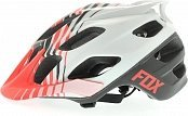 Велошлем FOX FLUX SAVANT HELMET Red-White